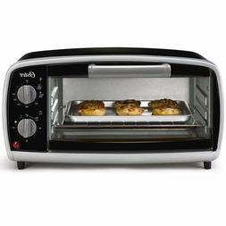 Oster Electric Countertop 4-Slice Toaster Oven Bake Broil To