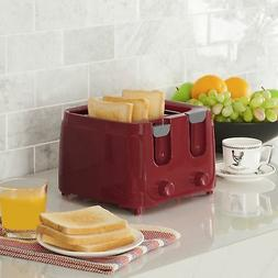 Electric Mini Bread Toaster Sandwich Best Pop uP Small Red L