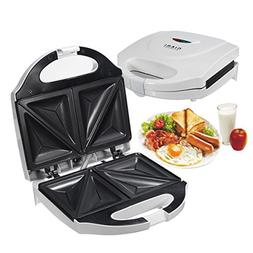 BuyYourWish Electric Sandwich Toaster Toasties Maker Non Sti