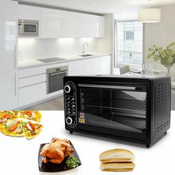 electric toaster oven large 21 pizza capacity