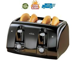 Extra Wide Slot 4-Slice Toaster Anti-jam Automatically Shuto
