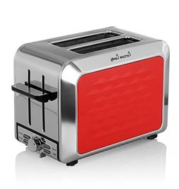 2 Slice Toaster, Extra Wide Slot with Reheat Defrost 7-Shade