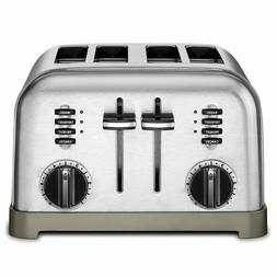 Cuisinart CPT-180 Metal Classic 4-Slice toaster, Brushed Sta