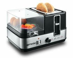 Gourmia GBF370 4 in 1 Breakfast Station - 2 Slice Toaster, E