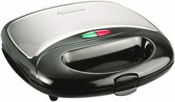 Electric Sandwich Grill Deep Non Stick Surface Dual Toast Ma
