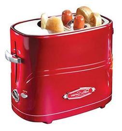 Nostalgia HDT600RETRORED Pop-Up 2 Hot Dog and Bun Toaster  A