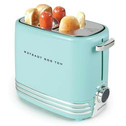 HDT900AQ Two Hot Dog and Buns Pop-Up Toaster, Aqua