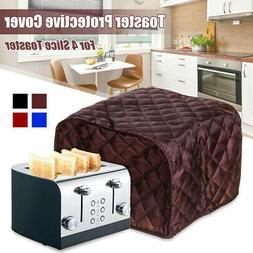Home 4 Slice Toaster Bakeware Cover Protector Dustproof Kitc