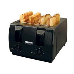 Better Chef IM-242B 4-Slice Toaster Adjustable Dual-Control