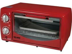 Better Chef IM-257R Red 9 Liter Toaster Oven Broiler