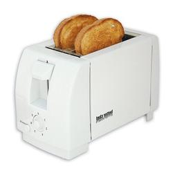 Better Chef IM-210W WIDE-SLOT 2-slice Toaster with slide-out