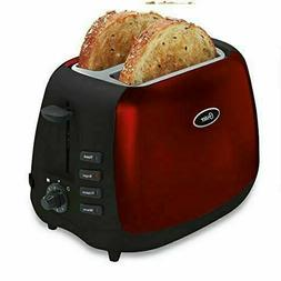 Oster Inspire 2-Slice Toaster Metallic Red