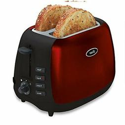 Oster Inspire 2-Slice Toaster, Red/Black