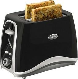 Oster - Inspire 2-Slice Wide-Slot Toaster - Black