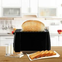 J-Jati 2 Slice Toaster Wide Slot Compact Toaster with Defros