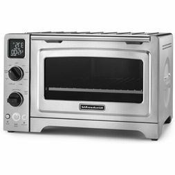 """KitchenAid KCO273SS 12"""" Convection Bake Digital Countertop O"""