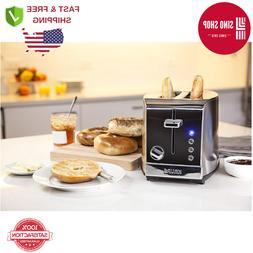 New Krups KH732D Breakfast Set 2-Slot Toaster with Brushed &