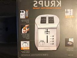 KRUPS KH732D Breakfast Set 2-Slot Toaster with Brushed and C