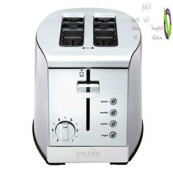 Krups Kh732D50 2-Slice Toaster, Stainless Steel Toaster, 5 F