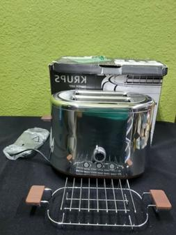 KRUPS KH754E. Silver Art Collection. Stainless Steel Toaster