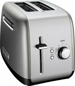 KitchenAid 2 Slice Toaster - Brushed Stainless Steel KMT2115