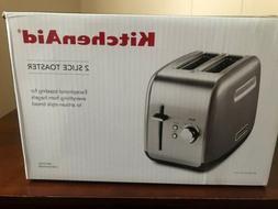 KitchenAid KMT2115CU Contour Silver 2-Slice Toaster