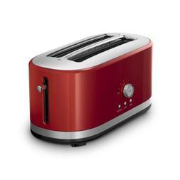 KitchenAid KMT4116ER 4 Slice Long Slot Toaster with High Lif