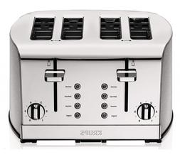 KRUPS 1500578368 KH734D Breakfast Set 4-Slot Toaster with Br