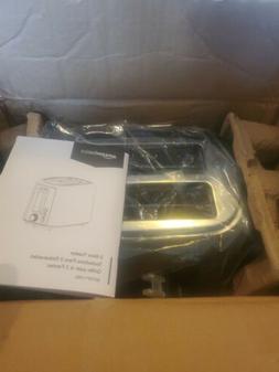 AmazonBasics KT-3680 2 Slice Extra Wide Slot Toaster - Black