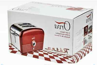 2 slice auto stainless steel toaster