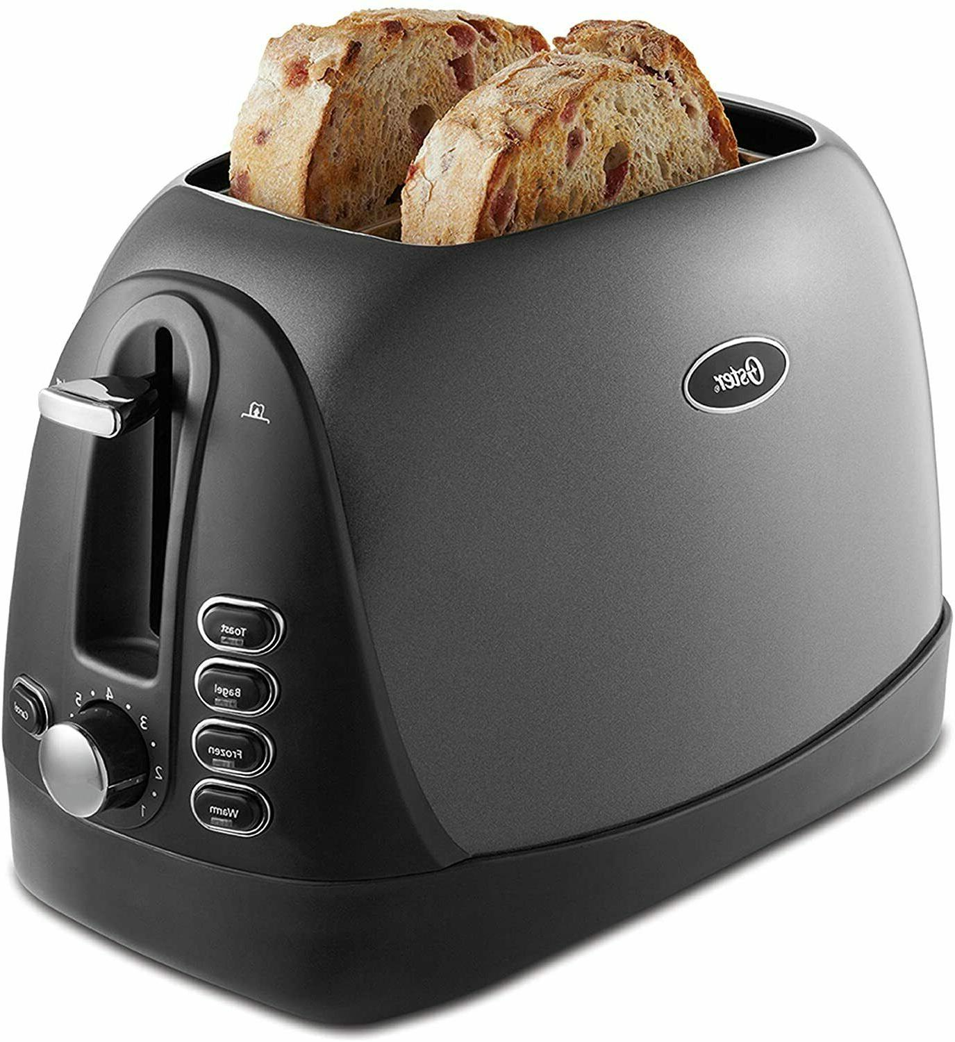 oster 2 slice bread bagel toaster extra