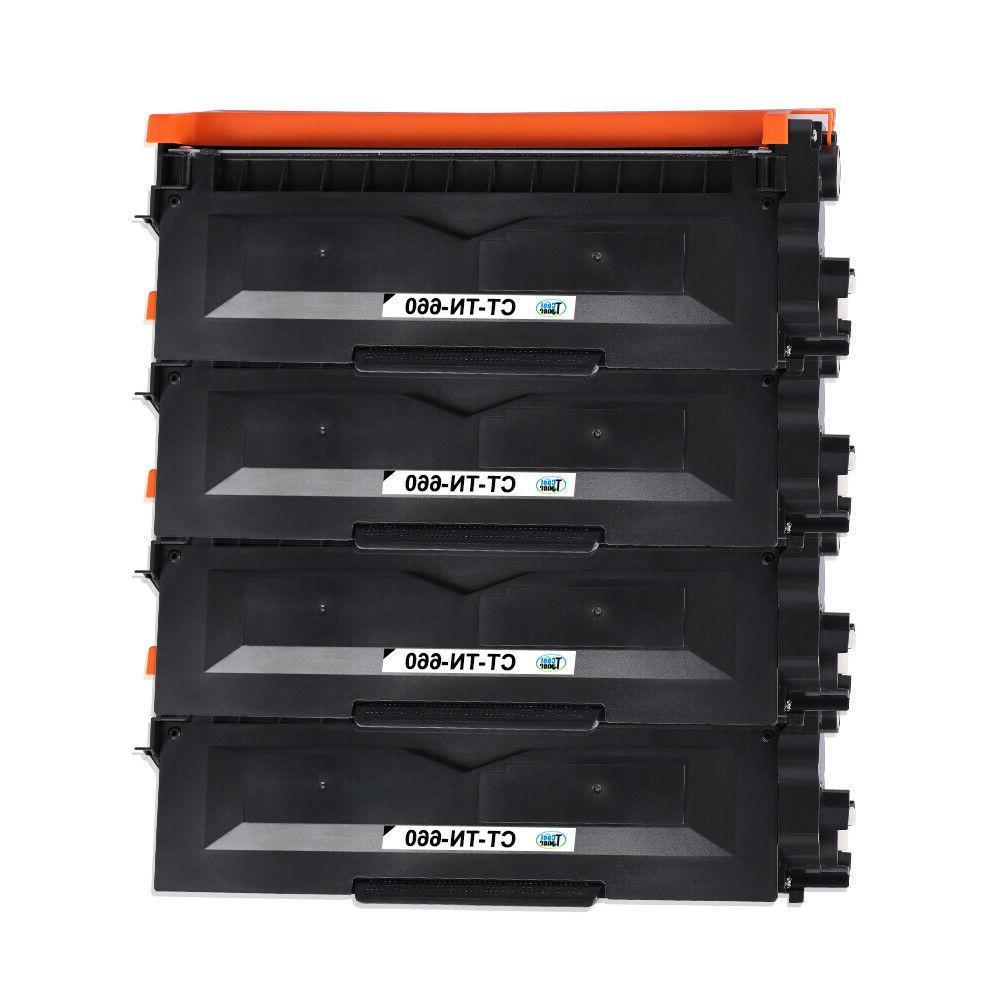 4PK for TN660 TN630 Toner HL-L2340DW