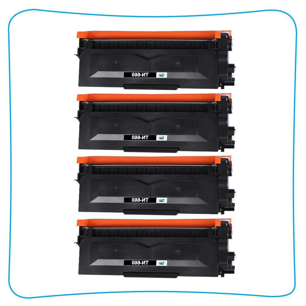 4PK TN660 Toner HL-L2340DW HL-L2300D