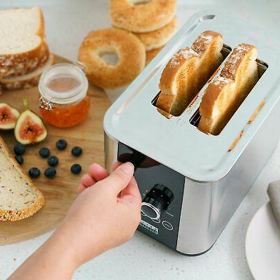 2-Slice Digital Touchscreen Toaster -