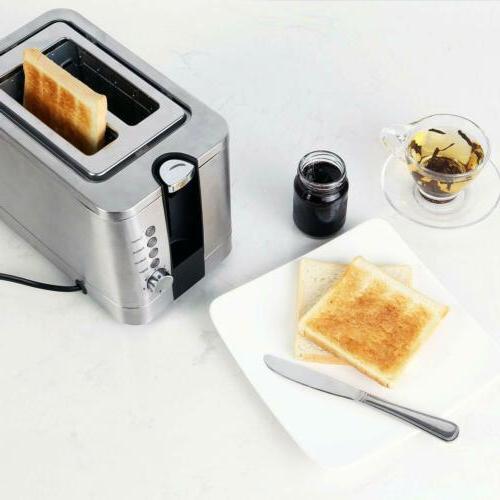 2-Slice Pop-Up Toaster Settings, Slots