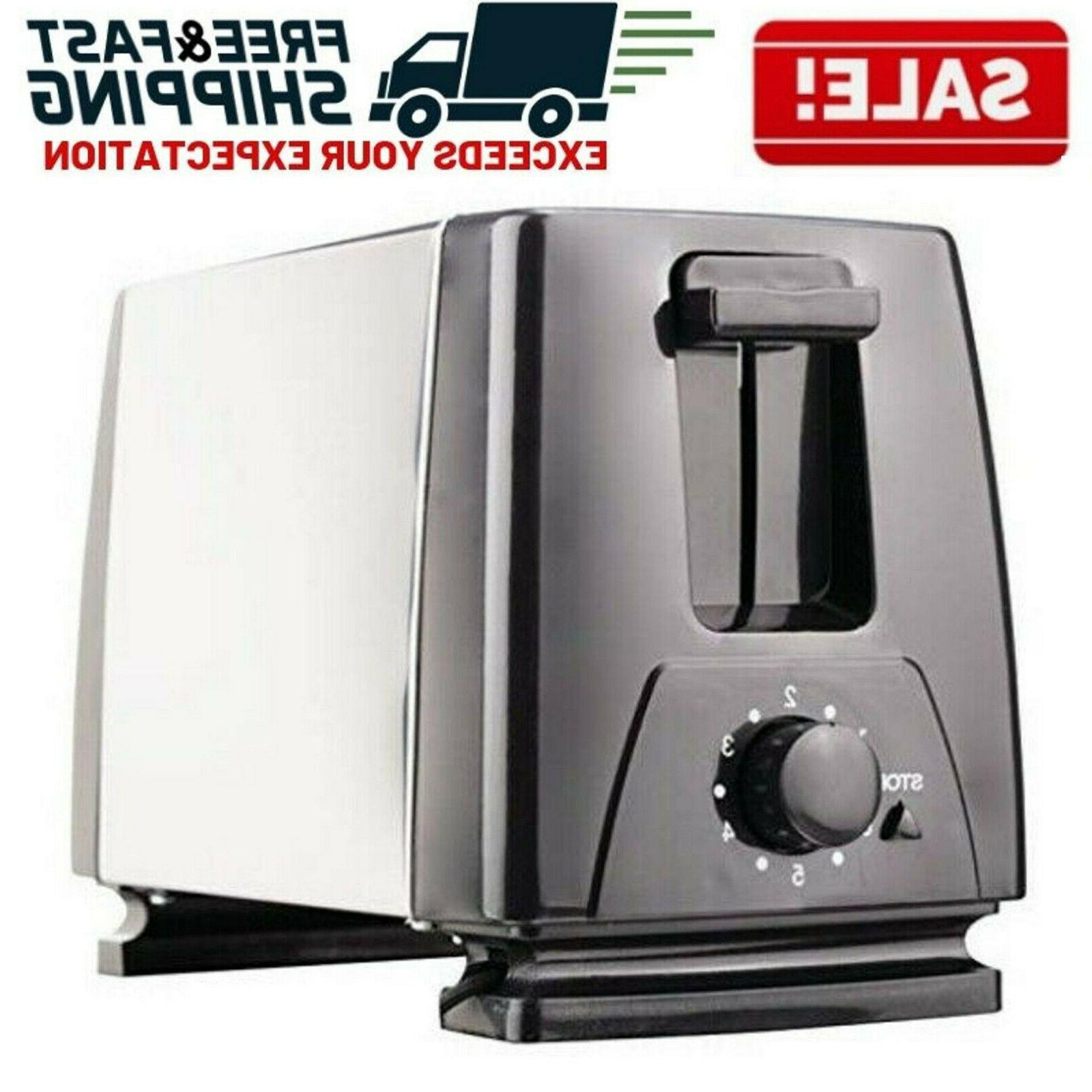 2 slice extra wide slot toaster stainless
