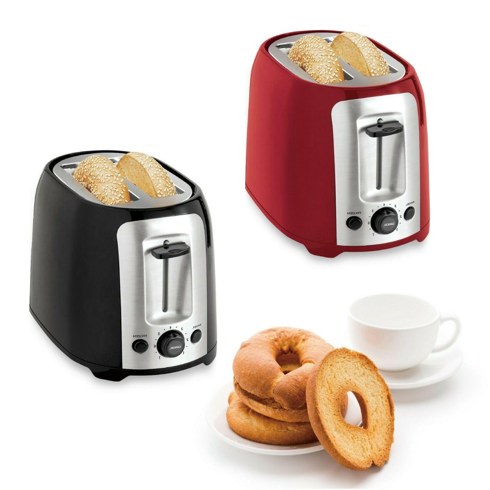 2 slice extra wide slots toaster