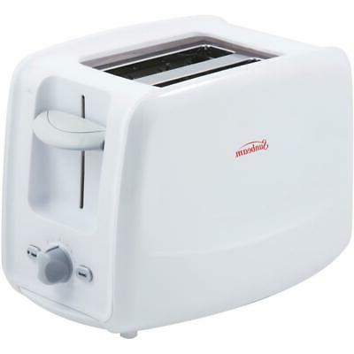 2 slice extra wide white toaster