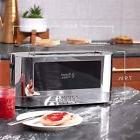 2 slice glass accent toaster stainless steel