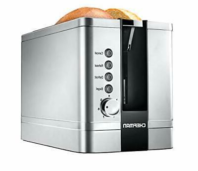 2-Slice Toaster Settings, Wide Slots fo