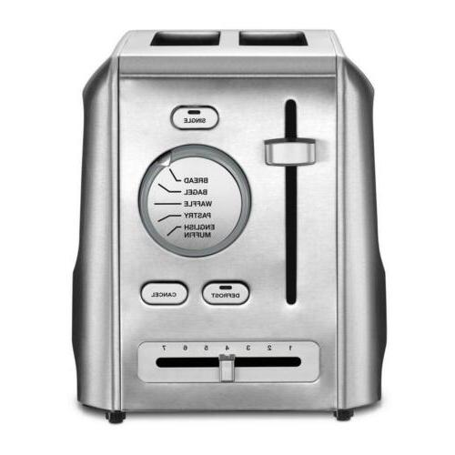 2 slice stainless steel custom select toaster