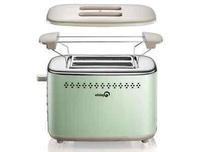 2 slice stainless steel toasters with 2