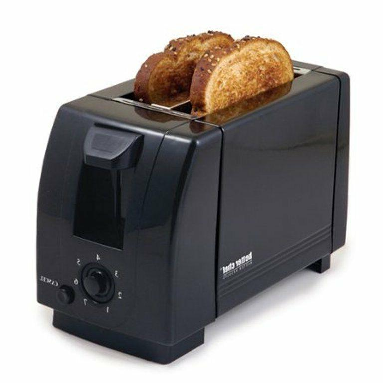 Better Chef 2-Slice Toaster - Adjustable Browning Control -
