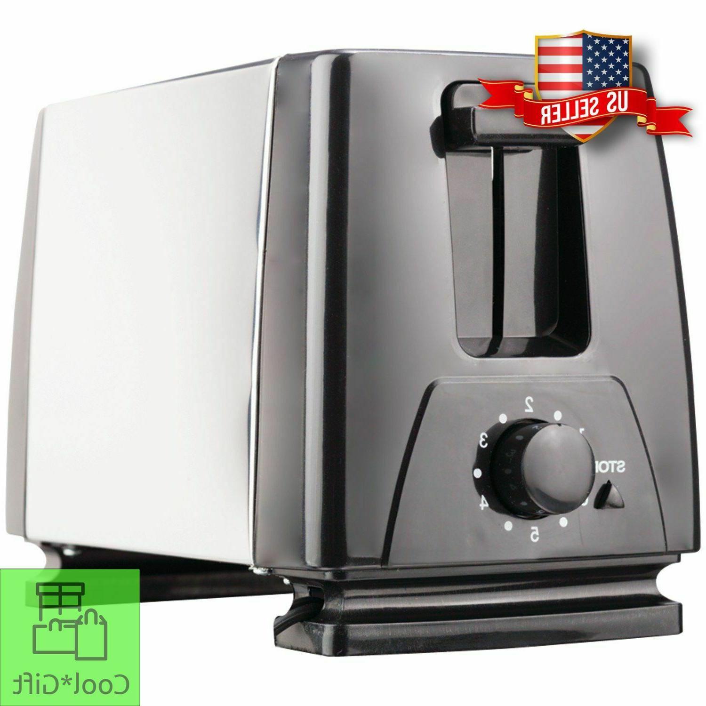 2 Slice Toaster Extra-Wide Slots w/ Crumb Tray 7-Setting Bro