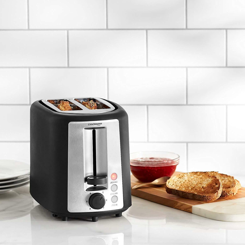 2 Slice Toaster Slots 6 Shade Settings Bread