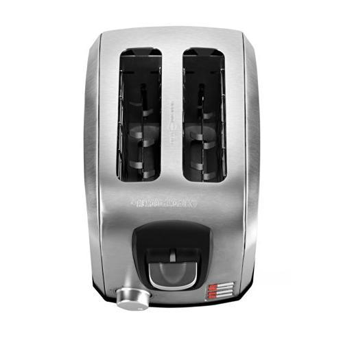 Black 2-Slice Toaster Model T2707S, Steel,