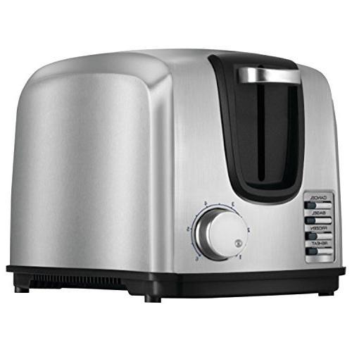 Black Decker Toaster T2707S, Steel, 1 ea