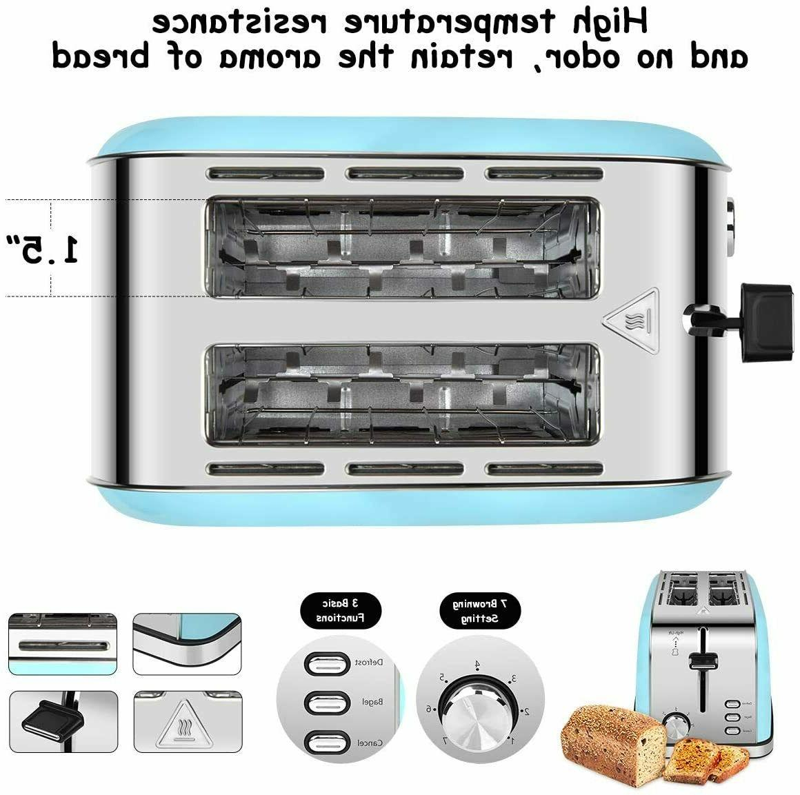 2-Slice-Toasters Bread Compact Toaster