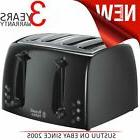 Russell Hobbs 21651 4 Slice Extra Wide Texture Toaster│Rem