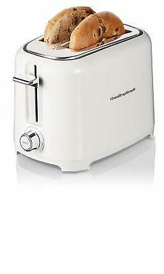Hamilton Beach 22218 700W 2-Slice Toaster, White